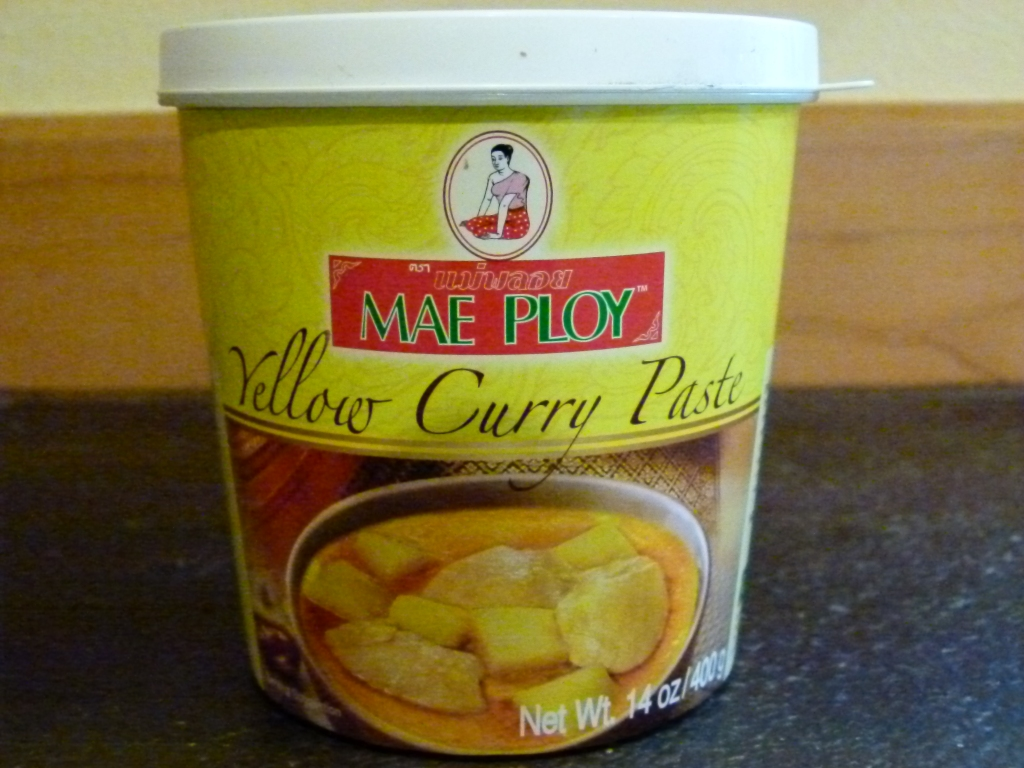 Vegan Yellow Curry Paste